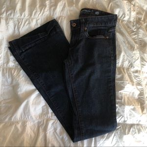 Guess Flare Jeans Dark Wash Size 24